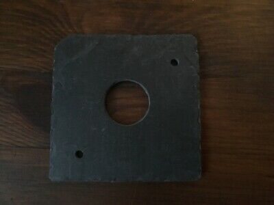 Bird nest box hole protector plate, Slate, 25MM