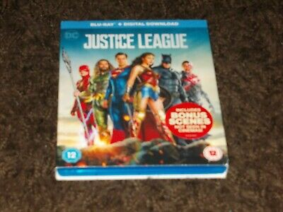 Justice League - DC Blu-ray - 2017