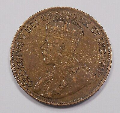 1914 Large Cent EF ** Beauty HIGH Grade BETTER Date King George V Canada Penny
