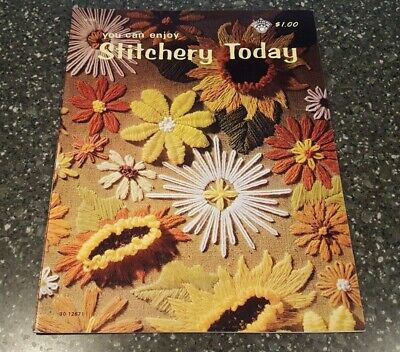 You Can Enjoy Stitchery Today Crewel Craft Course Publishers 30-12671