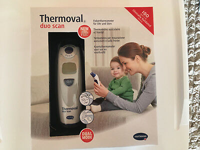 Thermomètre auriculaire et frontal Thermoval duo scan