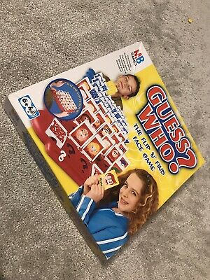 Guess Who MB Board Game Vintage Retro