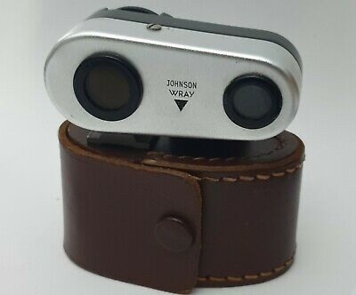 Johnson Wray Vintage Shoe Mount Rangefinder (Feet Scale) +Case For Parts/Repairs