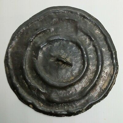 Bronze Mirror 65mm. Solar sign 700-800AD. Pendant  / Coin / Viking