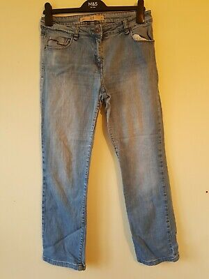 Next Size 12 R Blue Every Day Jeans Winter Spring