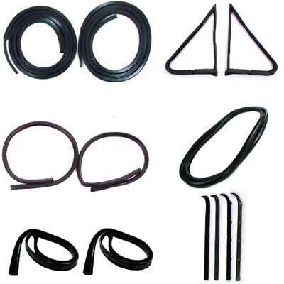 Door Seal Window Sweeps Channel Kit for 80-83 Ford Truck