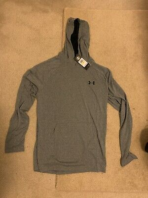 Under Armour Mens Tech 2.0 Performance Loose Fit Hoodie  Medium Grey New W Tags