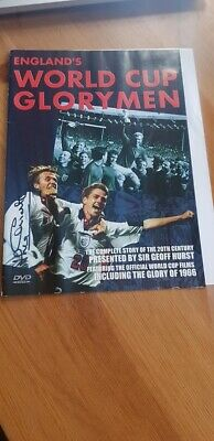 Signed Jack Charlton England World Cup Dvd Charity Auction 1966 Winner