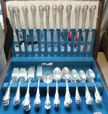 Old Master by Towle, 68 Piece Dinner Size Sterling Silver Flatware Set