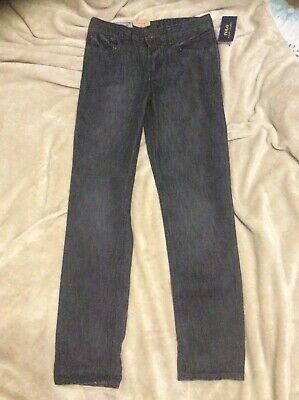 Boys Designger Polo Ralph Lauren Black Skinny Jeans New With Tags Age 12 Years