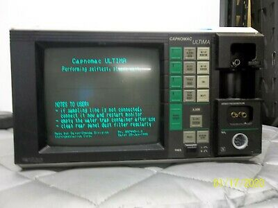 *TURNS ON* Datex Ohmeda Capnomac Ultima ULT-I..09.EN Anesthesia Monitor