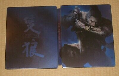 Sekiro Shadows Die Twice Limited G2 Steelbook NO GAME Collectors Official