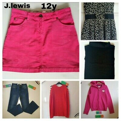 Girls Age 11-12y Clothes Bundle Outfit Dress Jeans Hoody Jumper Skirt Immaculate