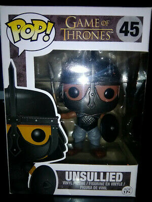 Funko POP! Game Of Thrones #45 Unsullied Vaulted/Retired Minor Box Damage