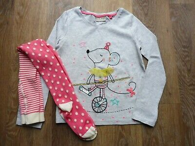 The absolute cutest BNWOT age 4-5 Next girl's top and tights set!!