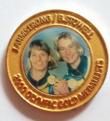 2000 Olympic Game Medallist (Sailing) - Daily Telegraph collection medal
