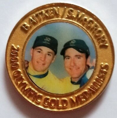 2000 Olympic Game Medallist Cycling  - Daily Telegraph collection medal
