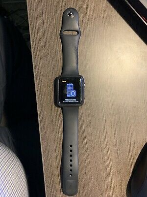 Apple Watch Series 3 42mm GPS + Cellular Space Gray