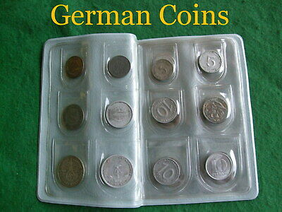 German old collectable coins Minted in Germany