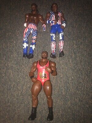 WWE Elite Mattel Loose Kofi Kingston Big E Xavier Woods The New Day 3 Figure Lot