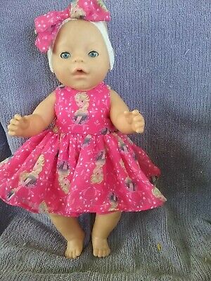 """17""""Zaph Baby Born and Interactive Sister dolls Handmade doll clothes"""