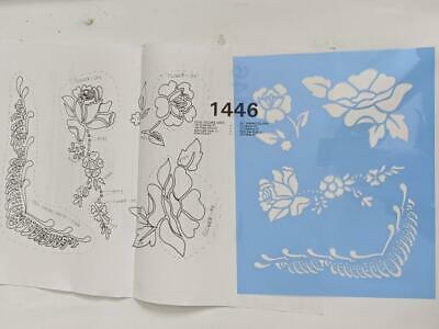 Tri-Chem Picture Chart - Fabric Painting  #1446 Floral Fiesta