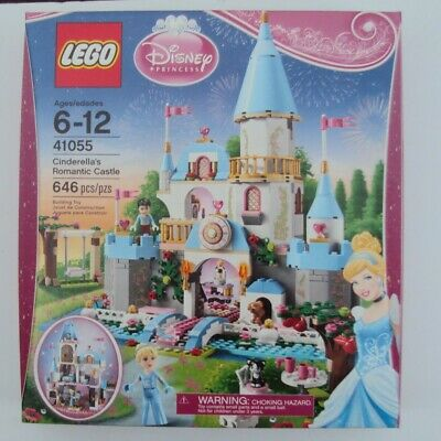 Lego 41055 - Disney Princess - Cinderella's Romantic Castle -  Retired - 646 pcs