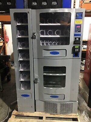 Snack And Soda Combo Vending machine  With Credit Card Reader