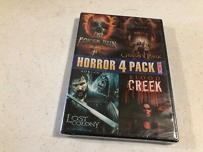 Horror 4 Pack, Vol. 2 (DVD, 2011) NEW & SEALED! buy more and save #5 & 2