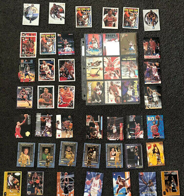 NBA Mixed Lot Of Cards x54 Rare & Common Basketball Cards