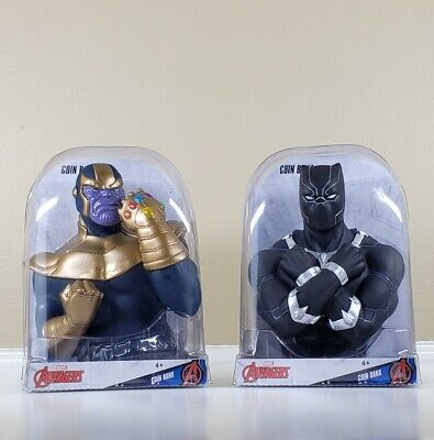 Black Panther Coin Bank Marvel Avengers Walgreens 2019 Exclusive Brand New NIP