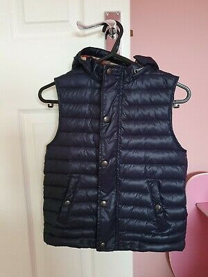 Boys genuine Burberry Gilet body warmer Age 8