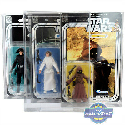Protector Box for Star Wars Figures 40th Anniversary PET Protective DISPLAY CASE