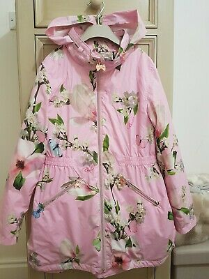 Ted Baker Girls Spring /summer Rain Jacket Age 11 Years