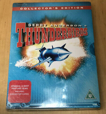 Thunderbirds Are Go/Thunderbirds Six DVD (2004) David Lane cert U **NEW** Sealed