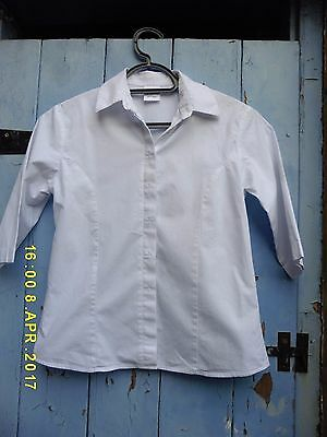 Girls School Blouse Age 10-11 by Senior BNWOT100% Cotton. Very good Quality