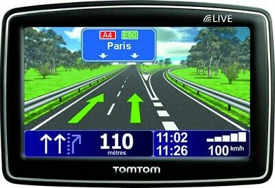 Gps Tomtom Xl Navigation Automobile Cartes France + Europe Avec Alertes Radars