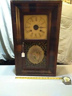 Vintage Clock Ca.1840 To 1860 might ! Not Work , e.n. welch co 30 hr beauty