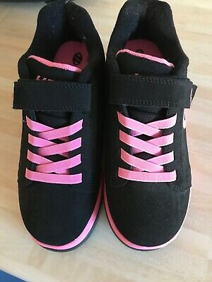 Pink And Black Heelys Size Uk 3 Without a Box