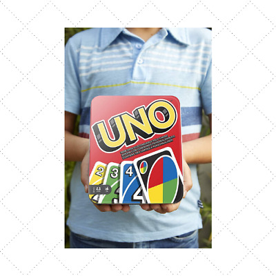 UNO FLIP CARD GAME MATTEL BRAND Wild Original Classic Party Playing Double Sided