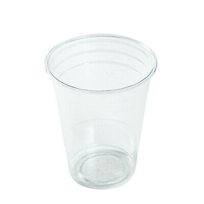 AmerCare 16 Oz Clear PET Cups, Case of 1000