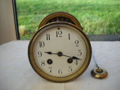 Nice French Mantel Clock Movement In G.w.o.