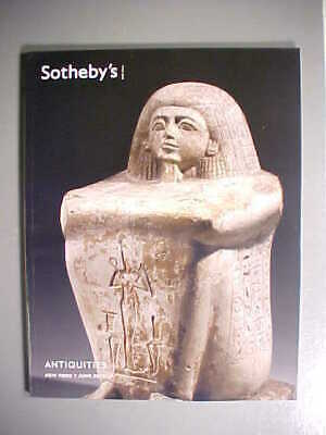 Sotheby's 6/7/12 ANTIQUITIES Greek, Roman, Etruscan, Egyptian, Classical, Wester
