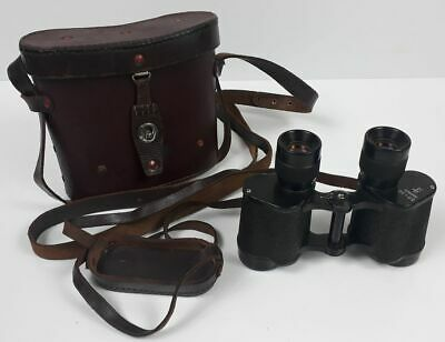 Soviet Army BINOCLUARS 8x30 with leather case little used - VERY GOOD CONDITION