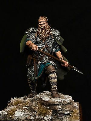 Painted figure Viking elite collection of high quality miniature statue 75mm