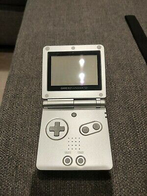 NINTENDO GAME BOY ADVANCE SP CONSOLE with case (no charger)