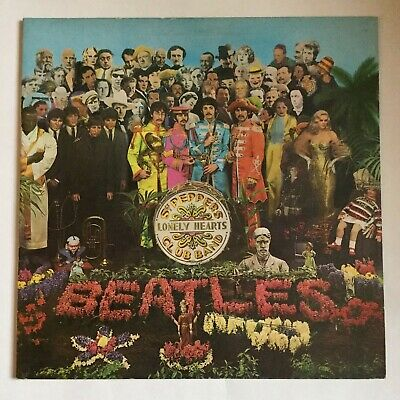 Beatles - Sgt Pepper's Lonely hearts - Stereo - VG PCS 7027 1967 with insert