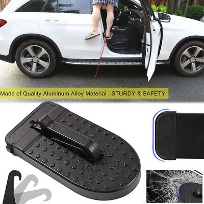 Car Door Latch Hook Step Foot Pedal Ladder Safety For Jeep SUV Truck Roof  LC