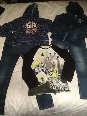 Boys Clothing Bundle 8-9 Jeans Jumpers