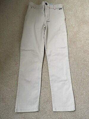 Ted baker Boys Chinos.  Beige.  Age 10 Years.  Great Condition.